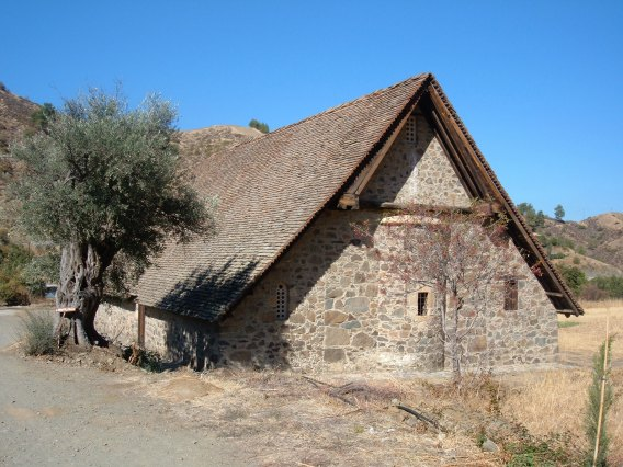 CYPRUS: One of the Troodos Churches | THEWANDERINGHOUSEWIFE.COM