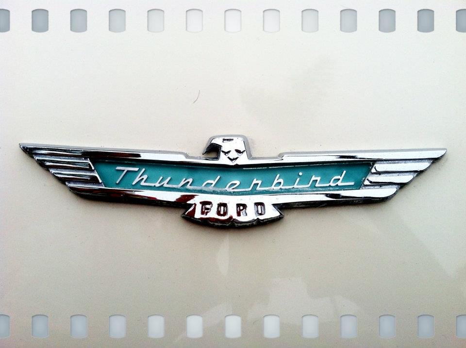 Ford Thunderbird Logo | TheWanderingHousewife.com
