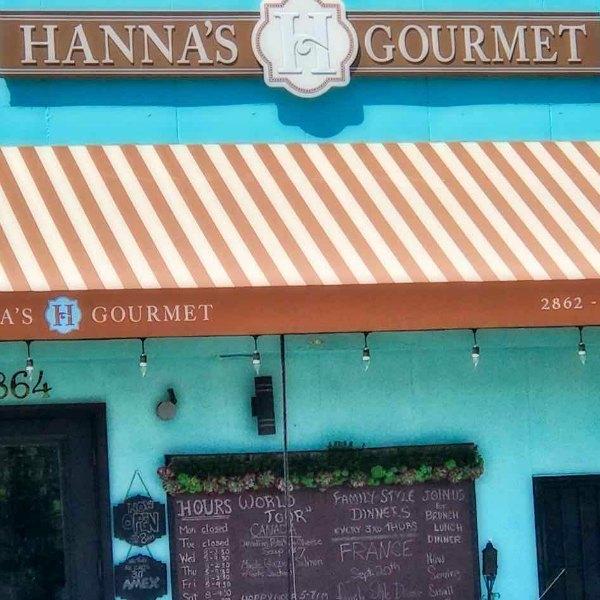 ADAMS AVENUE RESTAURANTS CRAWL: Hanna's Gourmet (Normal Heights) | TheWanderingHousewife.com