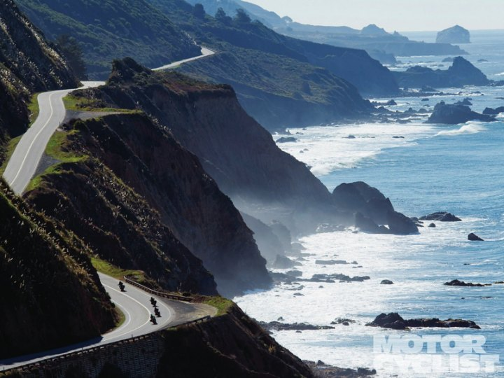 Adventurous Motorcycle Roads in the US | TheWanderingHousewife.com