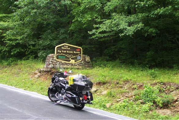 Best Adventurous Motorcycle Roads in the US | TheWanderingHousewife.com