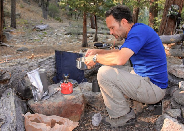 Cooking healthy freeze dried backpacking food | TheWanderingHousewife.com