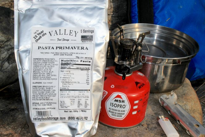 Healthy Freeze Dried Backpacking Food by Valley Food Storage | TheWanderingHousewife.com