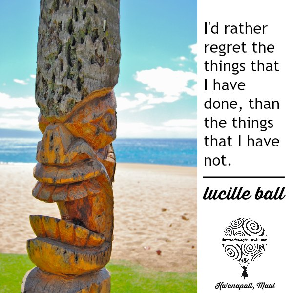 Lucille Ball quote. | TheWanderingHousewife.com