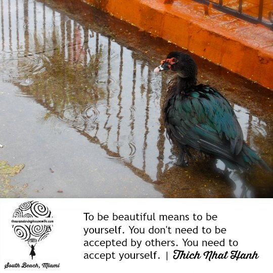 Accept yourself. | TheWanderingHousewife.com