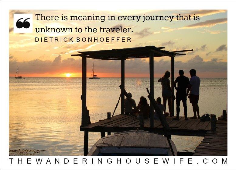 Dietrick Bonhoeffer quote | TheWanderingHousewife.com