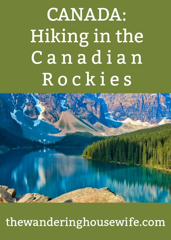 CANADA: Hiking Tour of the Canadian Rockies