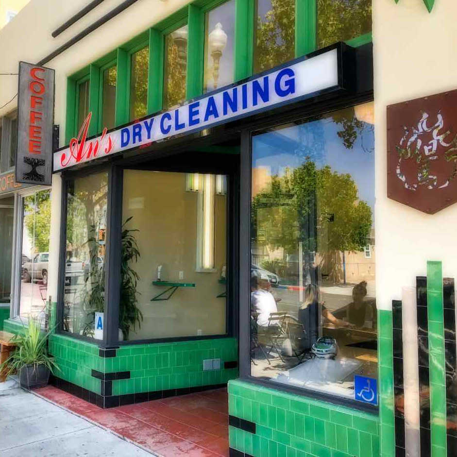ADAMS AVENUE RESTAURANTS CRAWL: An's Dry Cleaning Gelato | TheWanderingHousewife.com